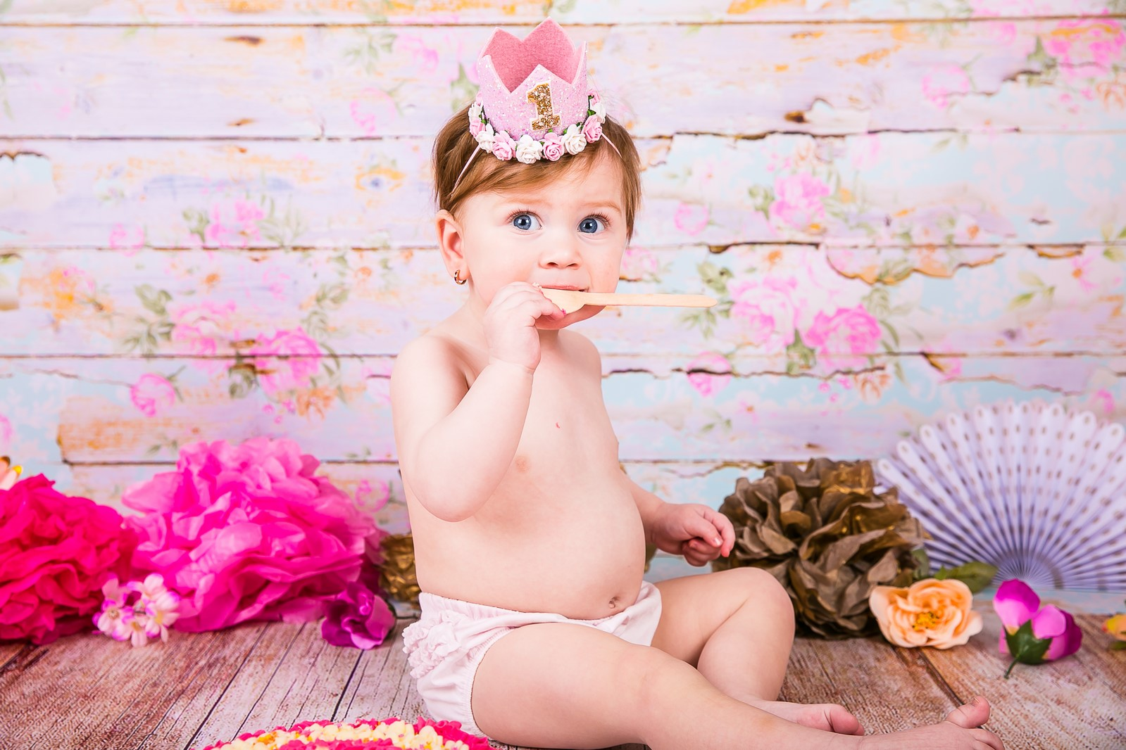 Happy Photography-1 ST Birthday ...Little queen Blair